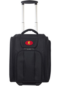 Ferris State Bulldogs Black Wheeled Business Luggage