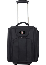 Florida State Seminoles Black Wheeled Business Luggage