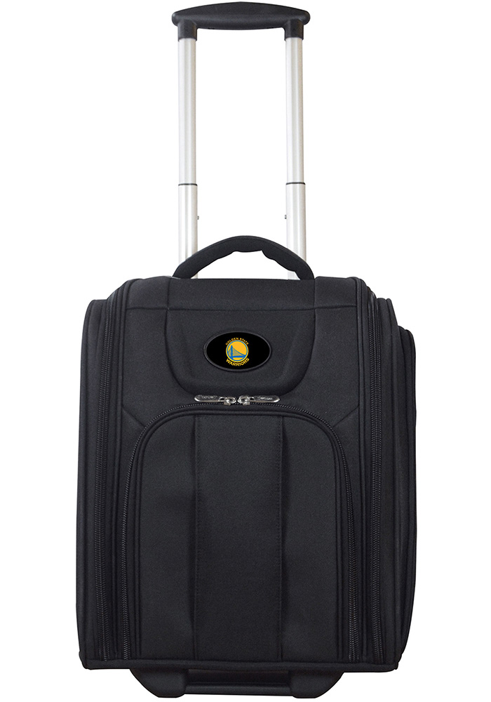 Golden State Warriors Black Wheeled Business Luggage - Image 1
