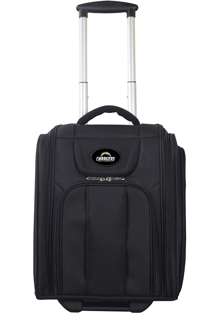 Los Angeles Chargers Black Wheeled Business Luggage - Image 1