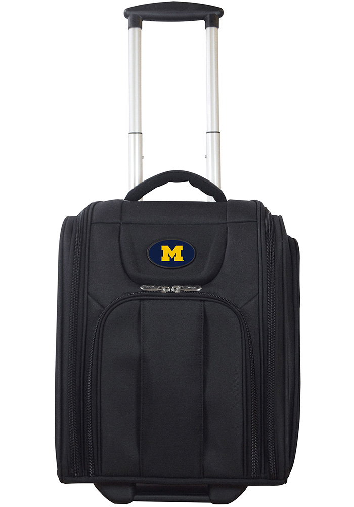 Michigan Wolverines Black Wheeled Business Luggage 3408cb4f460fe