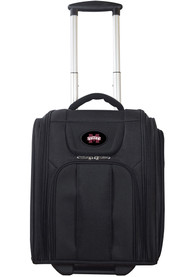 Mississippi State Bulldogs Black Wheeled Business Luggage