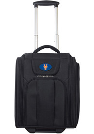 New York Mets Black Wheeled Business Luggage
