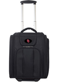 Oklahoma Sooners Black Wheeled Business Luggage