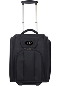 Purdue Boilermakers Black Wheeled Business Luggage