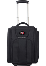 San Francisco 49ers Black Wheeled Business Luggage