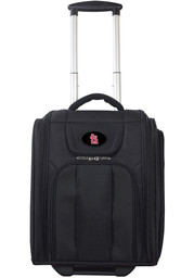 St Louis Cardinals Black Wheeled Business Luggage
