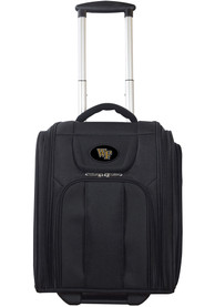 Wake Forest Demon Deacons Black Wheeled Business Luggage