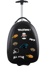 Carolina Panthers Black Kid Pod Luggage