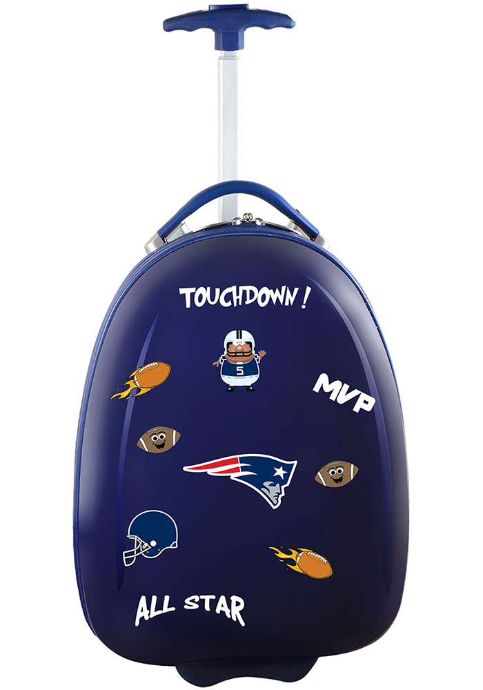 New England Patriots Navy Blue Kid Pod Luggage - Image 1