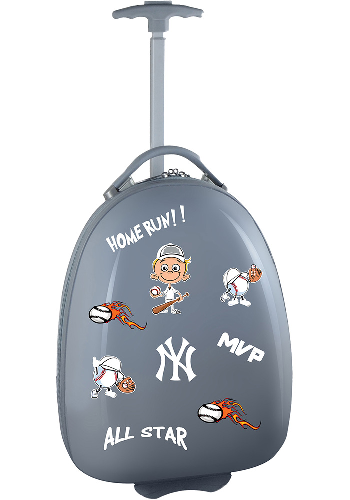 New York Yankees Grey Kid Pod Luggage - Image 1