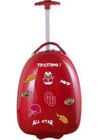 Oklahoma Sooners Crimson Kid Pod Luggage