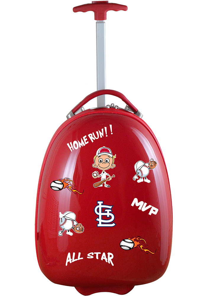 St Louis Cardinals Red Kid Pod Luggage - Image 1