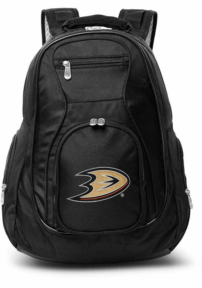 Anaheim Ducks Black 19 Laptop Backpack - Image 1