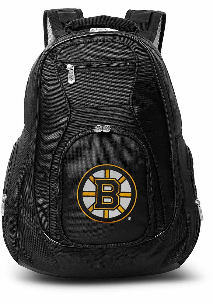 Boston Bruins Black 19g Laptop Backpack - Image 1