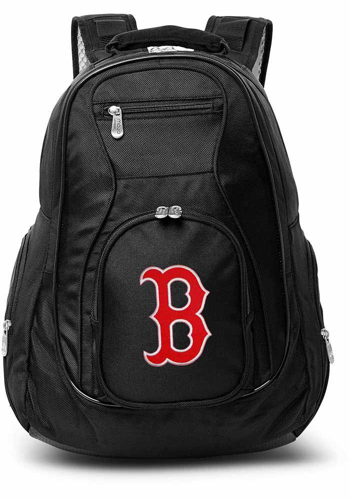Boston Red Sox Black 19 Laptop Backpack - Image 1