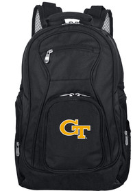 GA Tech Yellow Jackets 19 Laptop Backpack - Black