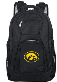 Iowa Hawkeyes 19 Laptop Backpack - Black