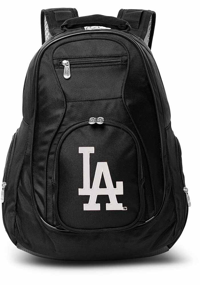 Los Angeles Dodgers Black 19 Laptop Backpack - Image 1