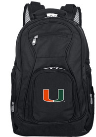 Miami Hurricanes 19 Laptop Backpack - Black