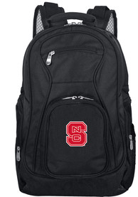 NC State Wolfpack 19 Laptop Backpack - Black