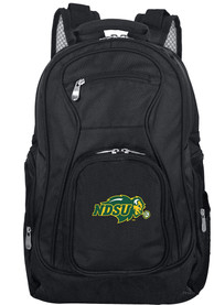 North Dakota State Bison 19 Laptop Backpack - Black