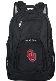 Oklahoma Sooners 19 Laptop Backpack - Black