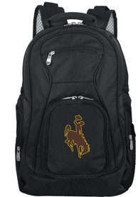 Wyoming Cowboys 19 Laptop Backpack - Black