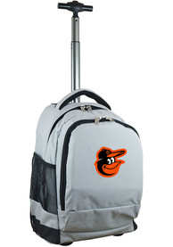 Baltimore Orioles Wheeled Premium Backpack - Grey