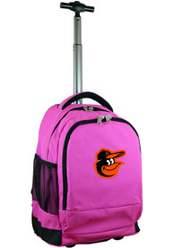 Baltimore Orioles Wheeled Premium Backpack - Pink