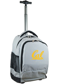 Cal Golden Bears Wheeled Premium Backpack - Grey