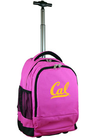 Cal Golden Bears Wheeled Premium Backpack - Pink