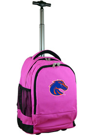 Boise State Broncos Wheeled Premium Backpack - Pink