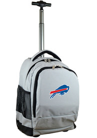 Buffalo Bills Wheeled Premium Backpack - Grey