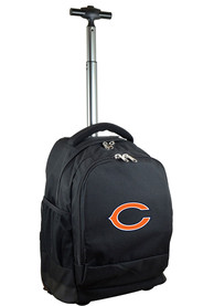 Chicago Bears Wheeled Premium Backpack - Black
