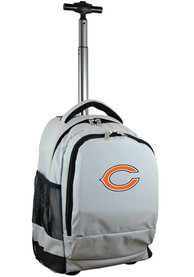 Chicago Bears Wheeled Premium Backpack - Grey