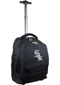 Chicago White Sox Wheeled Premium Backpack - Black