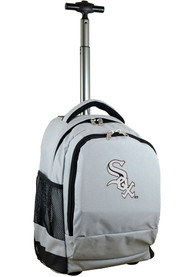 Chicago White Sox Wheeled Premium Backpack - Grey