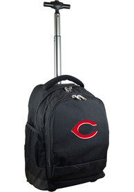 Cincinnati Reds Wheeled Premium Backpack - Black