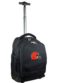 Cleveland Browns Wheeled Premium Backpack - Black
