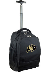 Colorado Buffaloes Wheeled Premium Backpack - Black