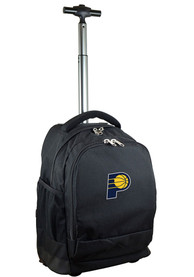 Indiana Pacers Wheeled Premium Backpack - Black