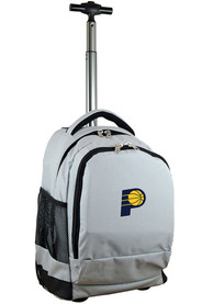 Indiana Pacers Wheeled Premium Backpack - Grey