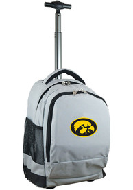 Iowa Hawkeyes Wheeled Premium Backpack - Grey
