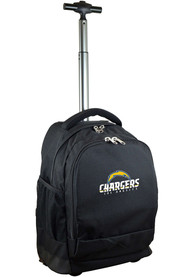 Los Angeles Chargers Wheeled Premium Backpack - Black