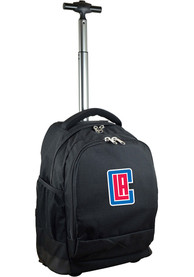 Los Angeles Clippers Wheeled Premium Backpack - Black