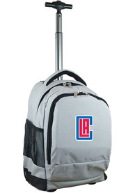 Los Angeles Clippers Wheeled Premium Backpack - Grey