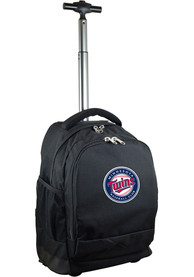 Minnesota Twins Wheeled Premium Backpack - Black