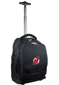 New Jersey Devils Wheeled Premium Backpack - Black