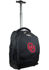 Oklahoma Sooners Wheeled Premium Backpack - Black